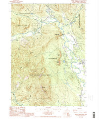 Download a high-resolution, GPS-compatible USGS topo map for North Conway West, NH (1987 edition)