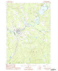 Download a high-resolution, GPS-compatible USGS topo map for Northfield, NH (1987 edition)