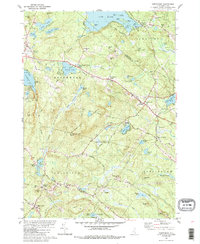 Download a high-resolution, GPS-compatible USGS topo map for Northwood, NH (1988 edition)