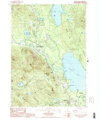 Download a high-resolution, GPS-compatible USGS topo map for Ossipee Lake, NH (1987 edition)