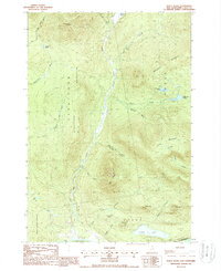Download a high-resolution, GPS-compatible USGS topo map for Percy Peaks, NH (1988 edition)