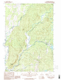 Download a high-resolution, GPS-compatible USGS topo map for Pittsburg, NH (1990 edition)
