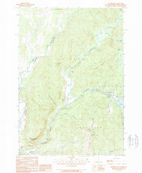 Download a high-resolution, GPS-compatible USGS topo map for Pittsburg, NH (1989 edition)