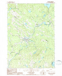 Download a high-resolution, GPS-compatible USGS topo map for Pittsfield, NH (1987 edition)