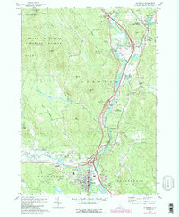 Download a high-resolution, GPS-compatible USGS topo map for Plymouth, NH (1989 edition)