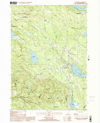 Download a high-resolution, GPS-compatible USGS topo map for Sanbornville, NH (2001 edition)