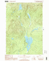 Download a high-resolution, GPS-compatible USGS topo map for Second Connecticut Lake, NH (2000 edition)
