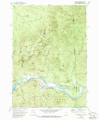 Download a high-resolution, GPS-compatible USGS topo map for Shelburne, NH (1988 edition)