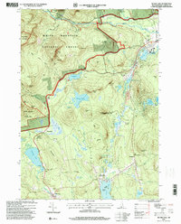 Download a high-resolution, GPS-compatible USGS topo map for Silver Lake, NH (2000 edition)