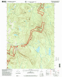 Download a high-resolution, GPS-compatible USGS topo map for Smarts Mountain, NH (2001 edition)