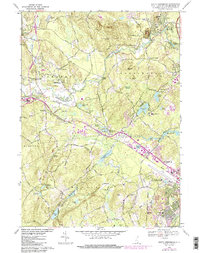 Download a high-resolution, GPS-compatible USGS topo map for South Merrimack, NH (1985 edition)