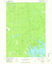 Download a high-resolution, GPS-compatible USGS topo map for Squam Mountains, NH (1981 edition)