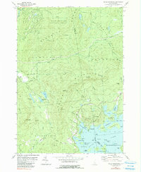 Download a high-resolution, GPS-compatible USGS topo map for Squam Mountains, NH (1990 edition)