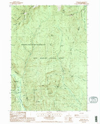 Download a high-resolution, GPS-compatible USGS topo map for Stairs Mountain, NH (1987 edition)