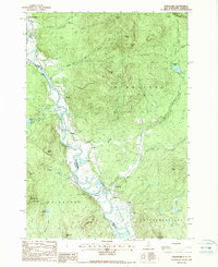 Download a high-resolution, GPS-compatible USGS topo map for Stratford, NH (1988 edition)