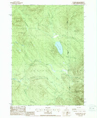 Download a high-resolution, GPS-compatible USGS topo map for Success Pond, NH (1988 edition)