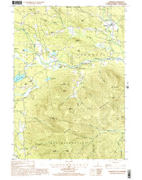 Download a high-resolution, GPS-compatible USGS topo map for Tamworth, NH (2001 edition)