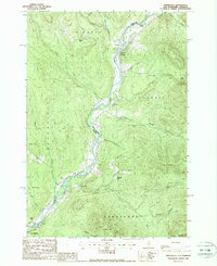 Download a high-resolution, GPS-compatible USGS topo map for Tinkerville, NH (1988 edition)