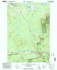 Download a high-resolution, GPS-compatible USGS topo map for Twin Mountain, NH (2000 edition)