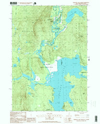 Download a high-resolution, GPS-compatible USGS topo map for Umbagog Lake North, NH (2000 edition)