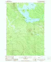 Download a high-resolution, GPS-compatible USGS topo map for Umbagog Lake South, NH (1988 edition)