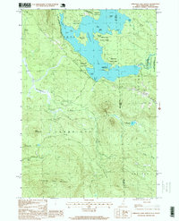 Download a high-resolution, GPS-compatible USGS topo map for Umbagog Lake South, NH (1999 edition)