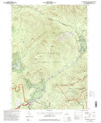 Download a high-resolution, GPS-compatible USGS topo map for Waterville Valley, NH (2000 edition)
