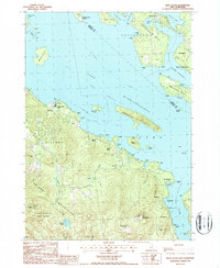 Download a high-resolution, GPS-compatible USGS topo map for West Alton, NH (1987 edition)