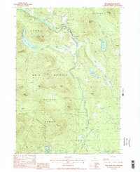 Download a high-resolution, GPS-compatible USGS topo map for West Milan, NH (1988 edition)