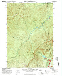 Download a high-resolution, GPS-compatible USGS topo map for Wild River, NH (2000 edition)