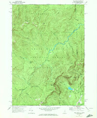 Download a high-resolution, GPS-compatible USGS topo map for Wild River, NH (1972 edition)