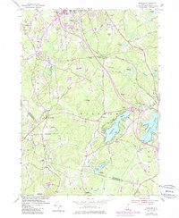 Download a high-resolution, GPS-compatible USGS topo map for Windham, NH (1985 edition)