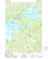 Download a high-resolution, GPS-compatible USGS topo map for Wolfeboro, NH (1987 edition)