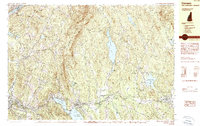Download a high-resolution, GPS-compatible USGS topo map for Canaan, NH (1990 edition)