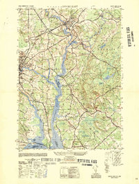 Download a high-resolution, GPS-compatible USGS topo map for Dover East, NH (1950 edition)
