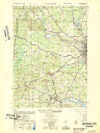 Download a high-resolution, GPS-compatible USGS topo map for Dover West, NH (1952 edition)