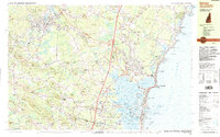 Download a high-resolution, GPS-compatible USGS topo map for Exeter, NH (1987 edition)