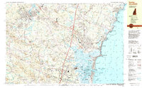 Download a high-resolution, GPS-compatible USGS topo map for Exeter, NH (1998 edition)