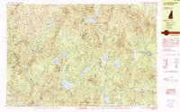 Download a high-resolution, GPS-compatible USGS topo map for Lovewell Mountain, NH (1984 edition)