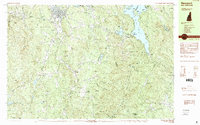 Download a high-resolution, GPS-compatible USGS topo map for Newport, NH (1984 edition)