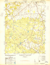 Download a high-resolution, GPS-compatible USGS topo map for Adelphia, NJ (1947 edition)