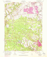 Download a high-resolution, GPS-compatible USGS topo map for Adelphia, NJ (1971 edition)