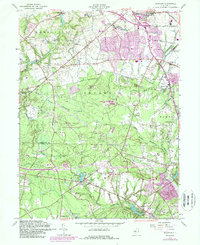 Download a high-resolution, GPS-compatible USGS topo map for Adelphia, NJ (1989 edition)