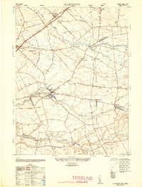 Download a high-resolution, GPS-compatible USGS topo map for Allentown, NJ (1948 edition)