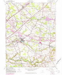 Download a high-resolution, GPS-compatible USGS topo map for Allentown, NJ (1982 edition)