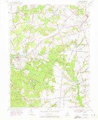Download a high-resolution, GPS-compatible USGS topo map for Alloway, NJ (1971 edition)