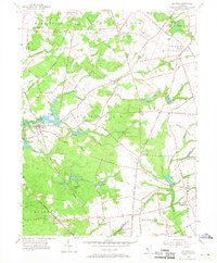Download a high-resolution, GPS-compatible USGS topo map for Alloway, NJ (1968 edition)