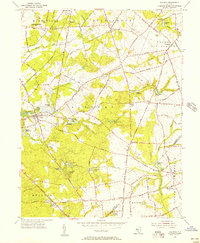 Download a high-resolution, GPS-compatible USGS topo map for Alloway, NJ (1956 edition)