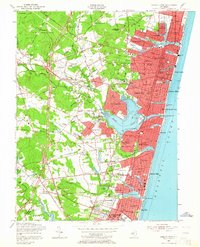Download a high-resolution, GPS-compatible USGS topo map for Asbury Park, NJ (1964 edition)