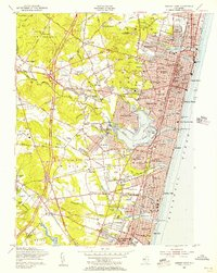 Download a high-resolution, GPS-compatible USGS topo map for Asbury Park, NJ (1956 edition)